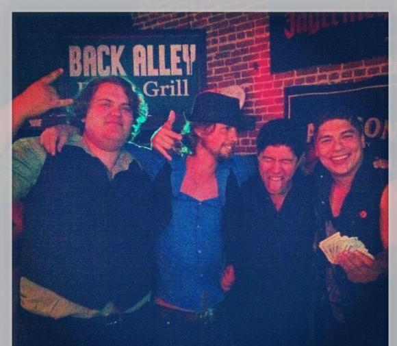 My Band Wins Battle of the Bands at Back Alley Bar!!