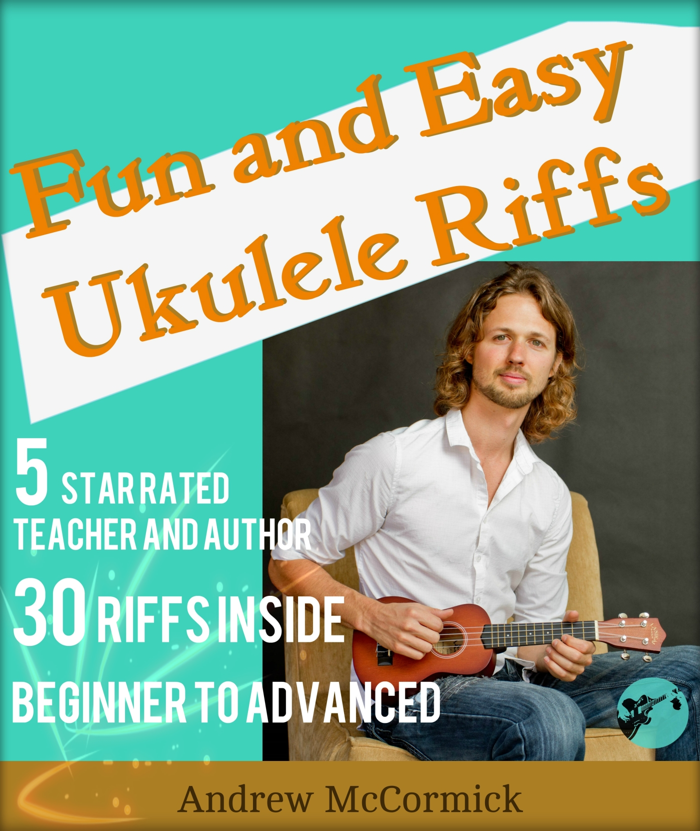 How To Play The Crazy Train Riff On The Ukulele Mccormick Guitar